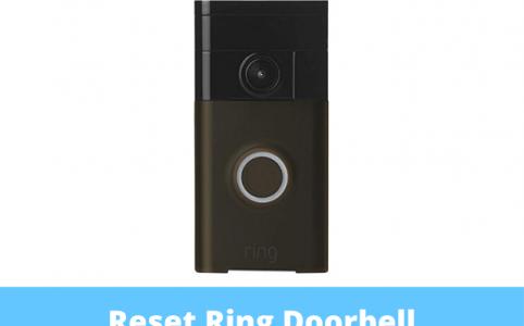 Reset Ring Doorbell