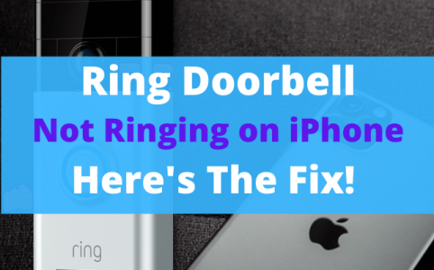 08 Ring Doorbell Not Ringing on iPhone