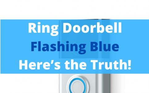 11 Ring Doorbell Flashing Blue