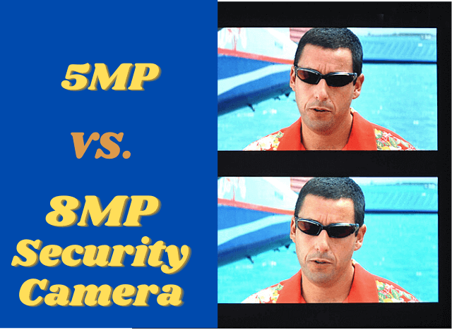 5mp vs 8mp Security Camera