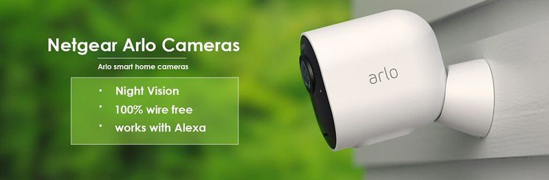 Arlo Cameras That Definitely Won't Work without Internet