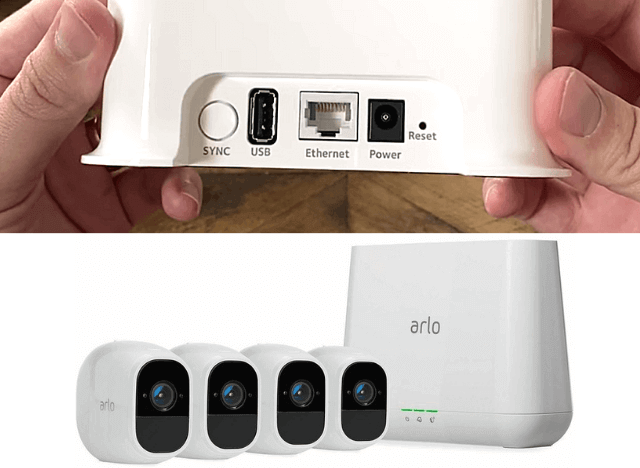 How to Reset Arlo Camera